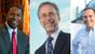 Jacksonville mayoral candidates Alvin Brown, Bill Bishop,