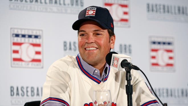 Mike Piazza had compiled a career .308 average and smacked a big league record 396 homers as a catcher.