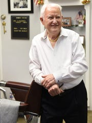 Salvatore Castellano, the owner of Sal's Haircutters for Men in Englewood, retired on Saturday.