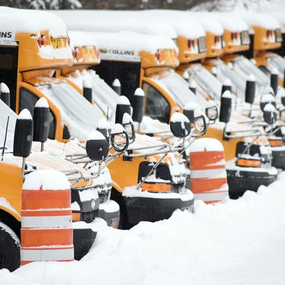 Let it snow, or don't: How districts decide on snow days
