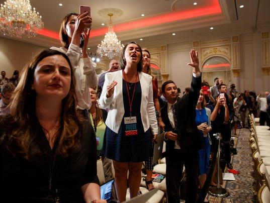 AP CAMPAIGN 2016 TRUMP A ELN USA DC