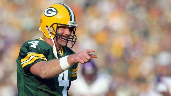 """Brett Favre is the subject of the documentary """"Finding Favre."""""""