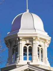 Nevada Capitol dome.