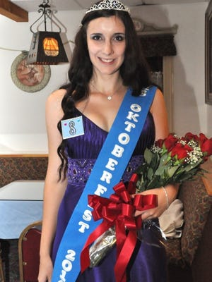 Petra Besenhard is this year's Ms. Oktoberfest.