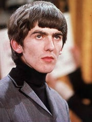 In the Know draws inspiration from musician George Harrison, shown in this 1964 photo.