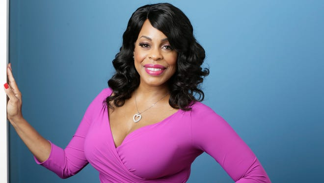 """Niecy Nash poses for a photo in Los Angeles on July 30, 2015. Nash is nominated for an Emmy for best supporting actress in a comedy for the quirky HBO series """"Getting On."""""""