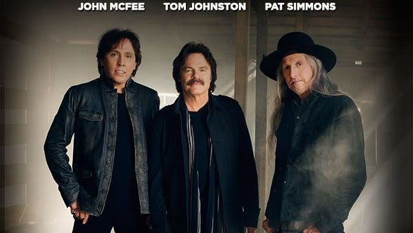 The Doobie Brothers will perform in El Paso in September.