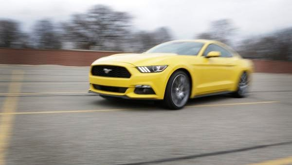 The 2015 Mustang's secrets include a new 2.3L four-cylinder EcoBoost engine that produces more power and better fuel economy than the competitors' six-cylinder engines.