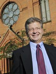 St. John's University President Michael Hemesath.
