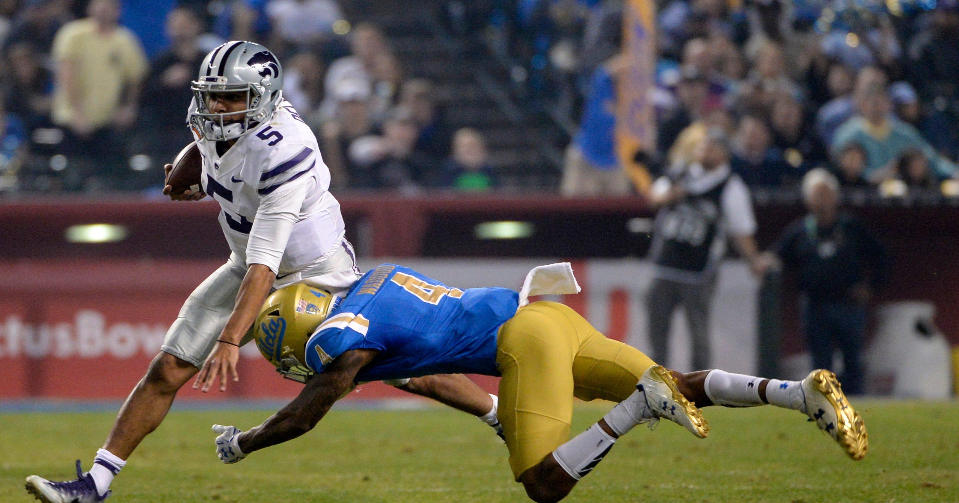 5ad786b40c5 Kansas State beats Josh Rosen-less UCLA in Cactus Bowl