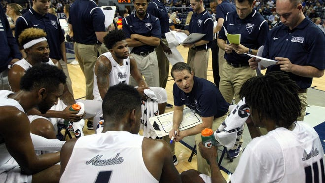 Wolf Pack head coach Eric Musselman and his team play Buffalo on Friday.