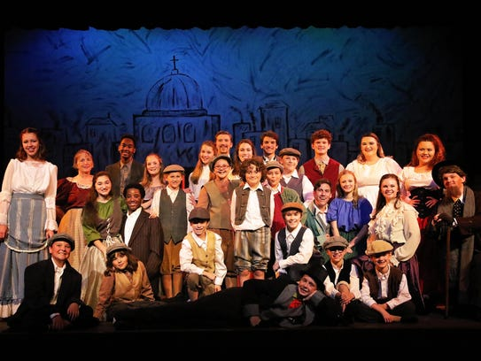 """The cast of """"Oliver!"""""""