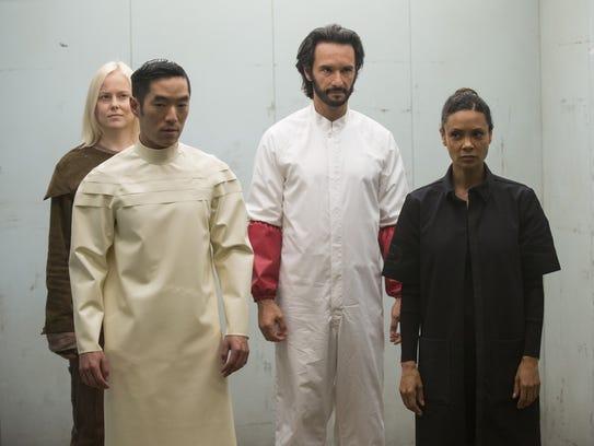Ingrid Bolsø Berdal as Armistice, Leonardo Nam as Lutz,