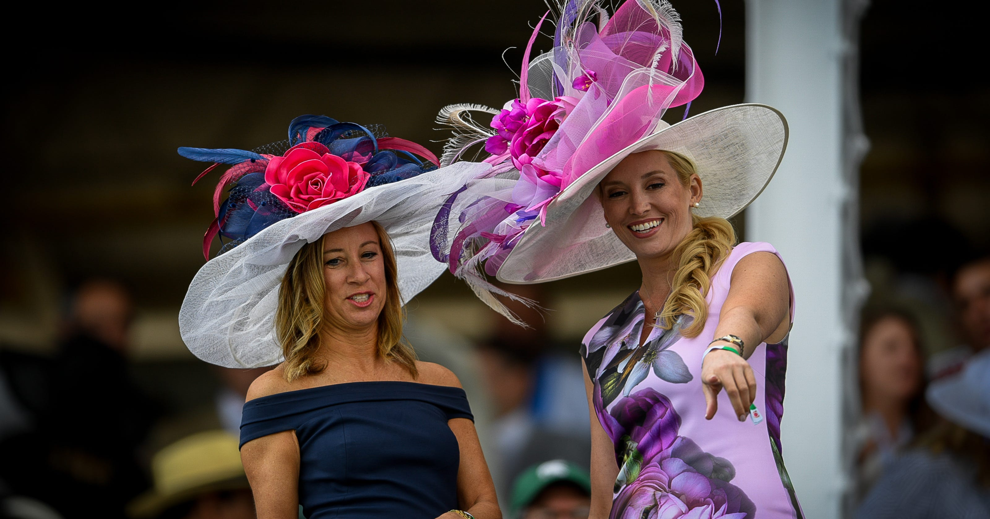 59a7e29a880b6 Kentucky Derby fashion  hats