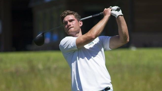 Defending Bremerton City Amateur champion Vinnie Murphy of Puyallup shot a 6-under 66 Saturday to take a first-round lead in this year's tournament at Gold Mountain Golf Club.