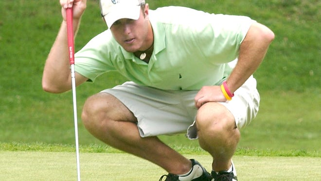 Pisgah graduate Nathan Stamey is now a professional golfer.