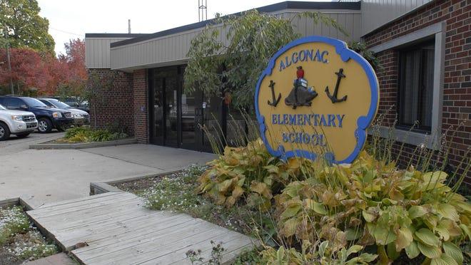 Thr former Algonac Elementary School