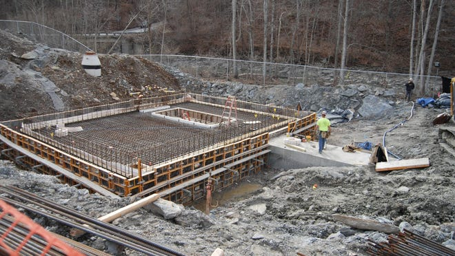 Construction continues on a new project for Northern Kentucky's Sanitation District 1, where a former worker has been charged with stealing $15,000 in a vacation time fraud scheme.