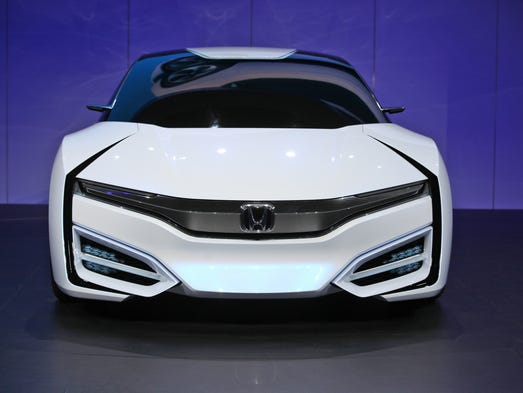 Honda FCEV Concept fuel-cell car unveiled Wednesday at the Los Angeles Auto Show.