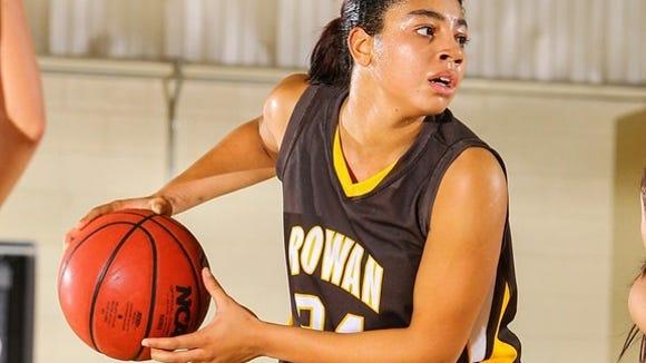 Rowan guard Anyssa Sanchez earns all-conference honors