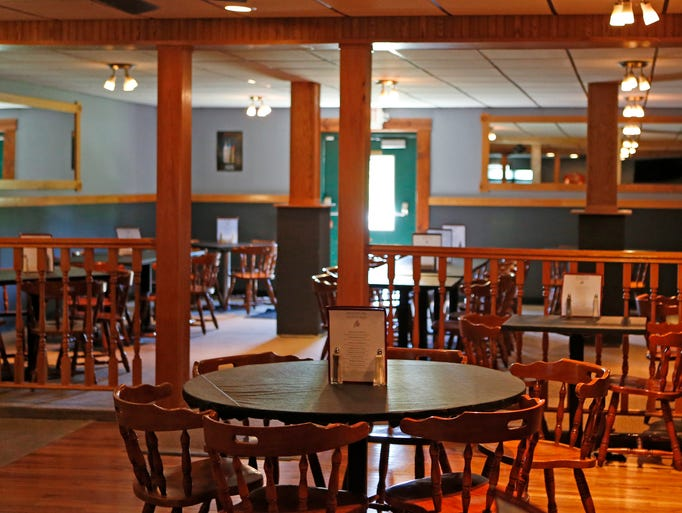The main dining room at Stephenson Mill Tavern & Grill in Walton.