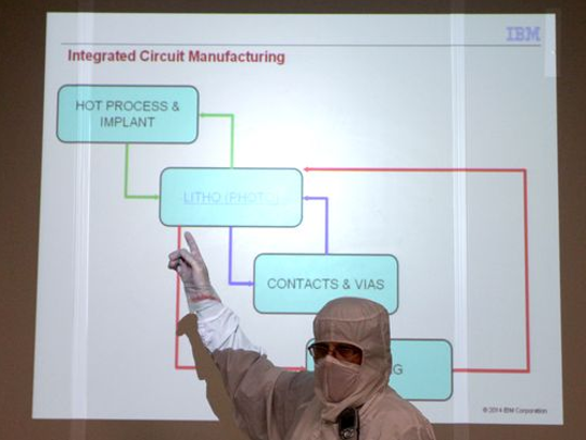Microchip production steps