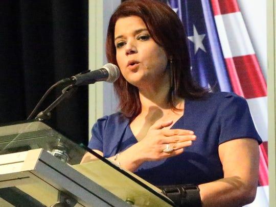 Ana Navarro, a political strategist and CNN commentator,