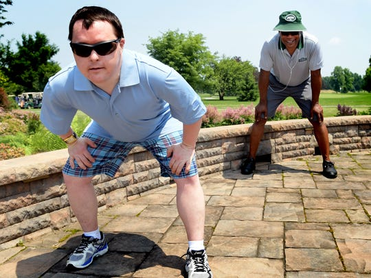 Special Olympian Matt Grove of Shillington, Pa., suggested