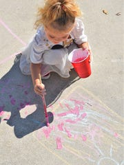 The Marco Island Center for the Arts will hold its annual outdoor sidewalk Chalk Art event from 2 until 5 p.m., April 6.