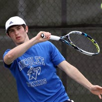 Nicolet boys tennis team sweeps Madison field, second in state polls