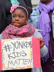 Kayla Dixon, 10, a student at Cross Hill Academy in