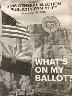 The booklet outlining what will be on the Nov. 8 ballot arrived in southern Arizona households lacking a number of pages, according to media accounts and Arizona Secretary of State Michele Reagan's office.