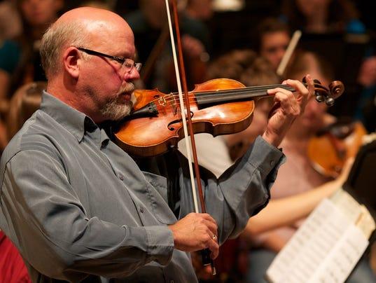 UWSP piano, violin concert