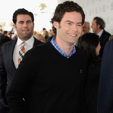 Bill Hader attends the 2014 Film Independent Spirit Awards at Santa Monica Beach on March 1, 2014 in Santa Monica, California.