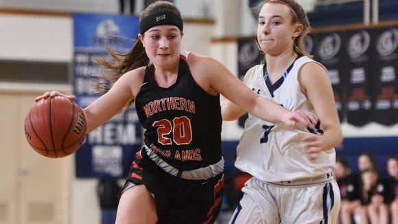 Sarah Minchin and No. 8 Northern Highlands will take on No. 9 Indian Hills in the second round of the Bergen County girls basketball tournament on Saturday.