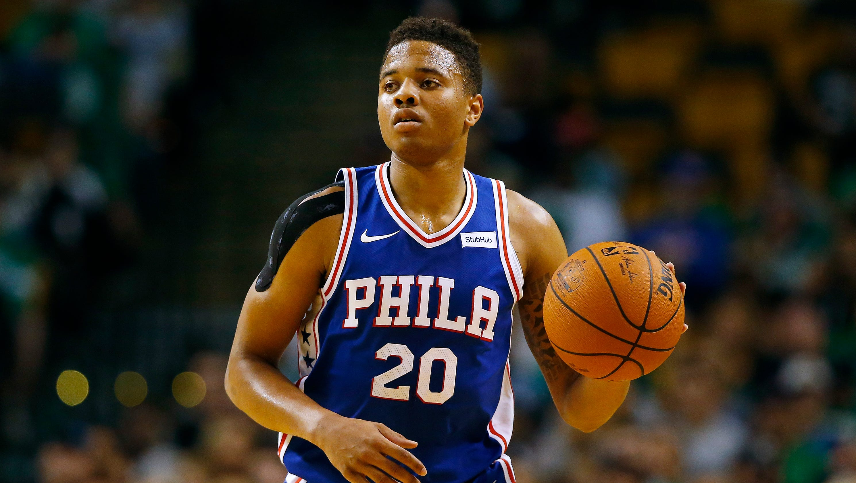 Agent: 76ers' Markelle Fultz can't 'raise up his arms to ...