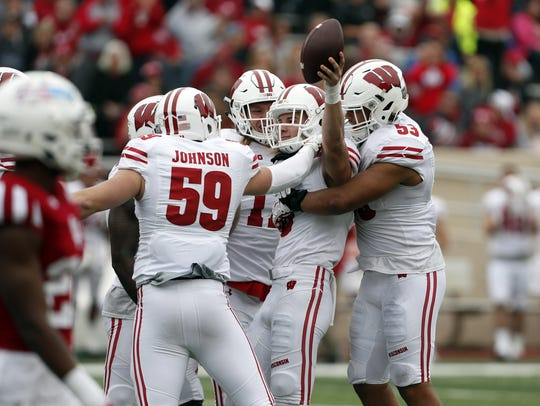 Wisconsin's defense leads the Big Ten in takeaways, with 22.