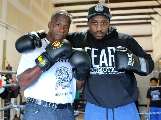 """Bernard Miller, former Dover boxer and owner of Dog Pound Boxing, is teaming up with Donnell Fears to promote the """"Battle by the Bay"""" boxing event June 17 at the Dover YMCA."""