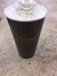 Cocoa at Lindt Chocolate Shop