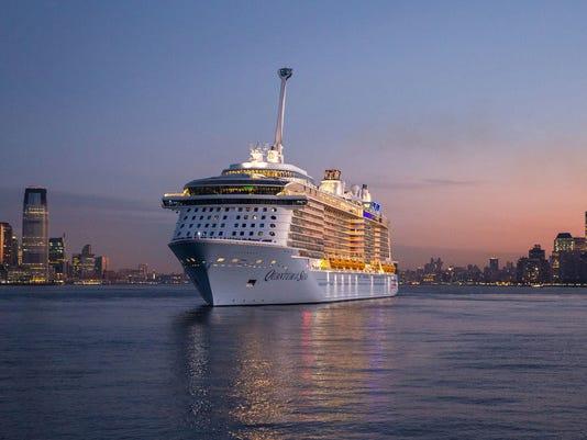 Royal Caribbean Quantum of the Seas Sunset