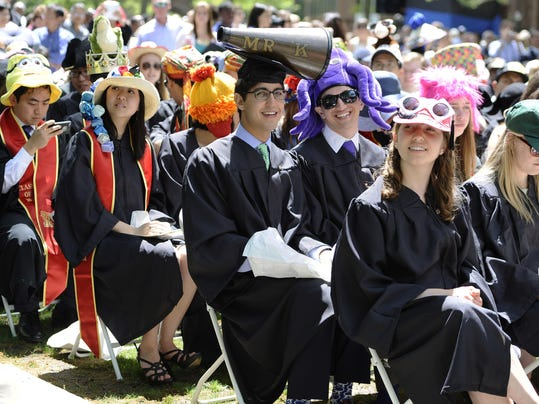 Want to stand out in cap and gown? Decorate mortarboard