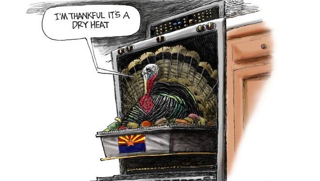 Cartoon for Nov. 22, 2017.