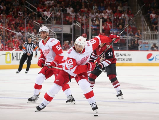 Detroit Red WIngs v Arizona Coyotes