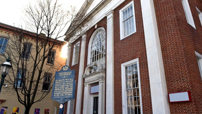 The Franklin County Visitors Bureauis moving to 15 South Main Street, Chambersburg, seen Monday, December 5, 2016.