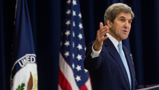 U.S. Secretary of State John Kerry.