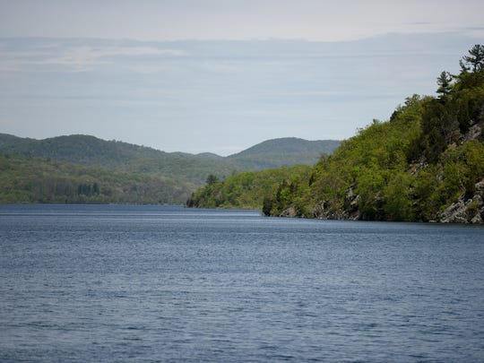 The Wanaque Reservoir in Ringwood on Thursday, May