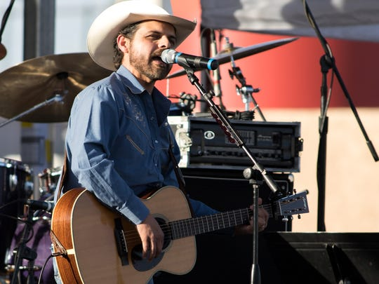 Rick Trevino at the 2016 Las Cruces Country Music Festival.