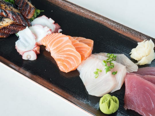 Hattie's Sashimi plate