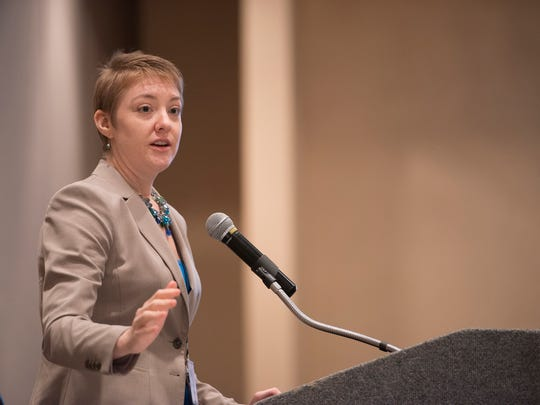 """Katherine Lucas McKay  gives a speech entitled """"Strategies for Supporting Microbusiness Owners' Financial Success."""""""