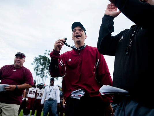 A Day With Troy Head Coach 27